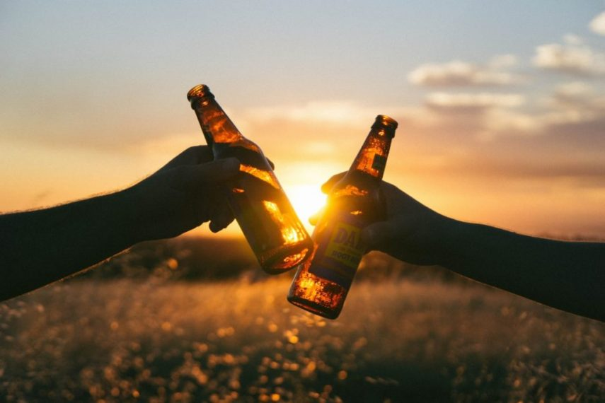 Schnell abnehmen und Alkohol